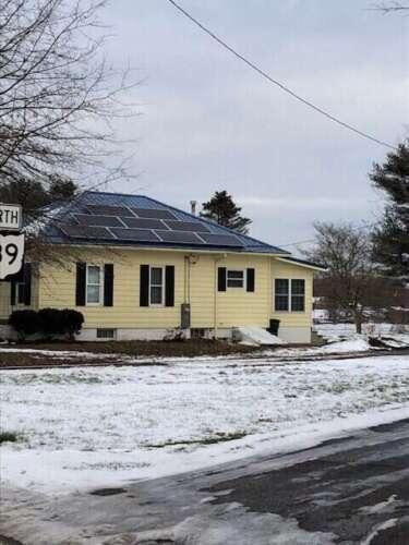SOLAR IN SNOW - Ohio solar