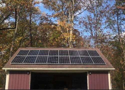 SOLAR ON GARAGE - Ohio solar