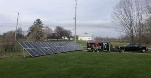 SOLAR ON GROUND - Ohio solar