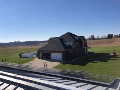 SOLAR ON BARN - Ohio solar